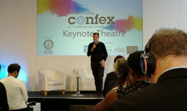 Confex keynote: Alastair Campbell on Brexit, Trump and mental health