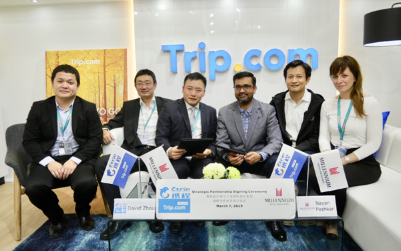 Ctrip signs China distribution agreement with Millennium Hotels and Resorts