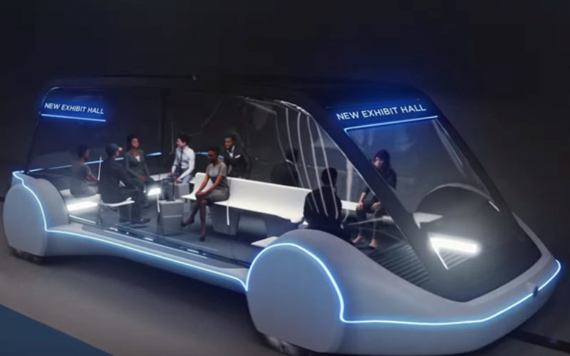 Las Vegas Conference Centre appoints Elon Musk's Boring Company for new transport system