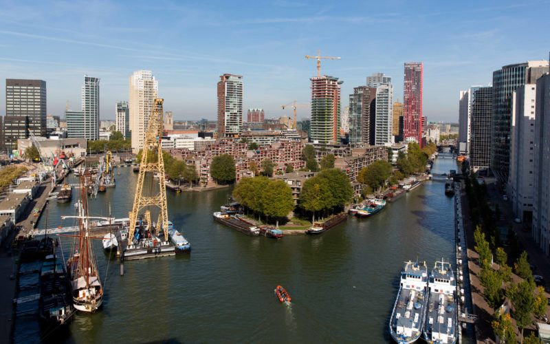 Rotterdam: the 'living lab' producing new conference chemistry