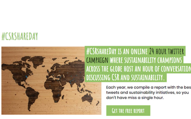Eventprofs urged to get involved in #CSRshareDay