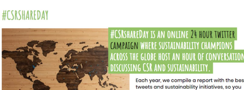 Eventprofs urged to get involved in #CSRshareDay