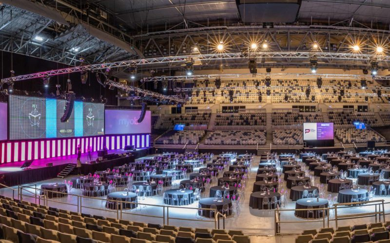 The benefits of booking an arena venue