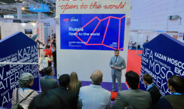 Russia's national CVB opens to the world at IMEX