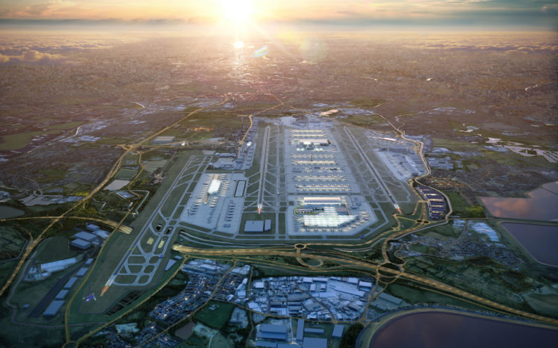 Heathrow releases imagery of planned third runway and consultation dates