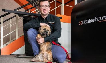 DBpixelhouse celebrates Bring Your Dog To Work Day