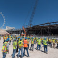 Vegas venue Caesars Forum tops out