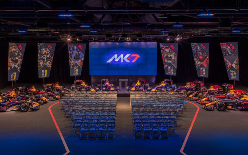 Red Bull launches new events space MK-7 at UK headquarters