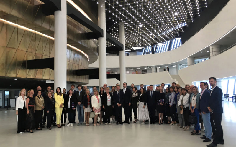 New Congress Hall opens for business in Ekaterinburg