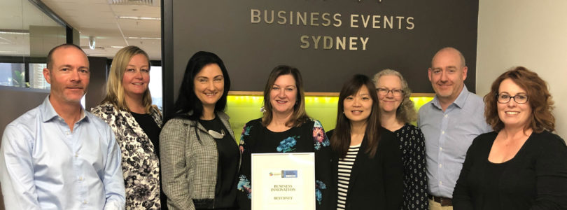 BESydney recognised as innovation trailblazer in Australian Business Awards