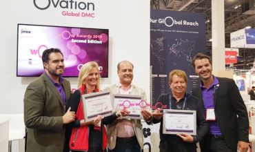 IMEX America wOw of an Ovation for industry influencers