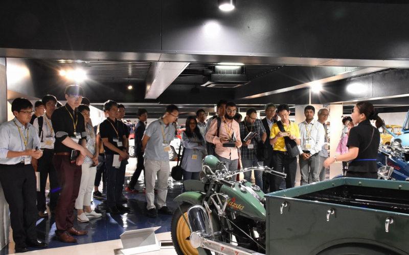 Robots on show as Hiroshima CVB hosts technical tour