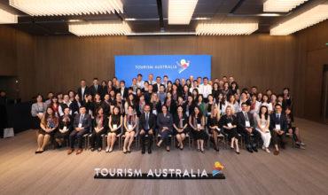 China showcases Australia's business events