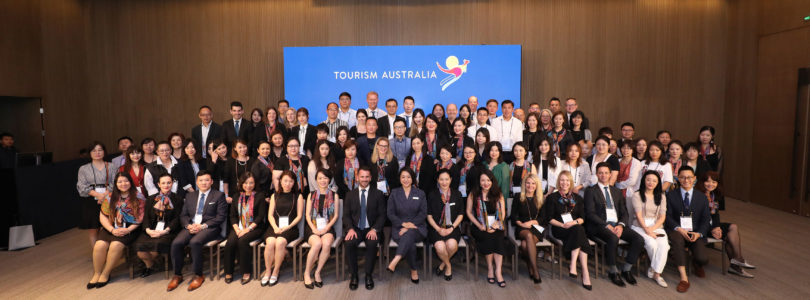 China showcases Australia's business events