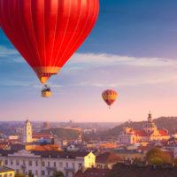 Ballooning in Vilnius