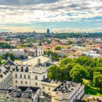 Panoramic Vilnius