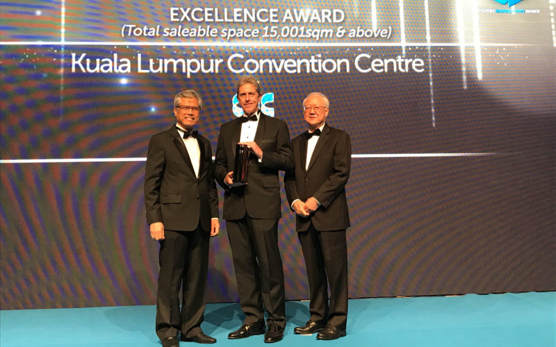 Kuala Lumpur Convention Centre recognised at MBEAs