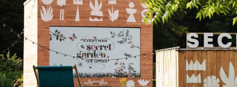 The secret, magical garden of events