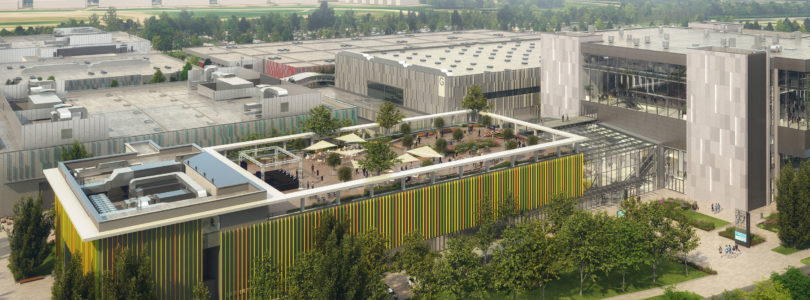 Hungexpo Budapest expansion underway
