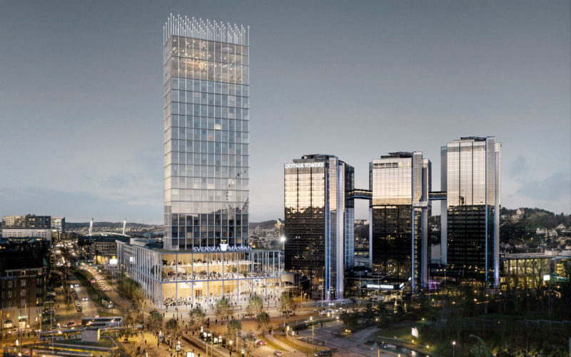 Swedish Exhibition & Congress Centre unveils fourth tower