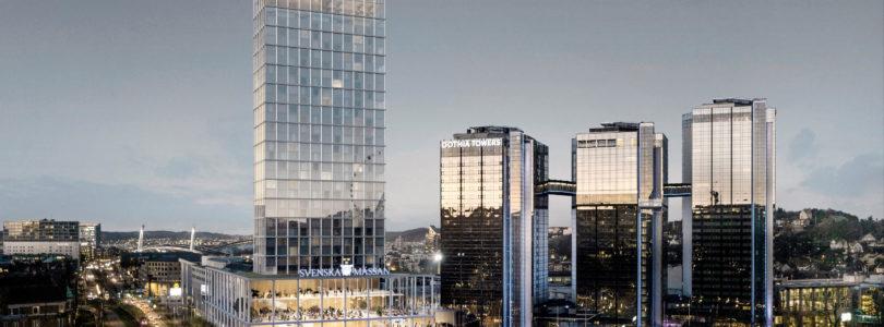 Swedish Exhibition & Congress Centre unveils fourth tower