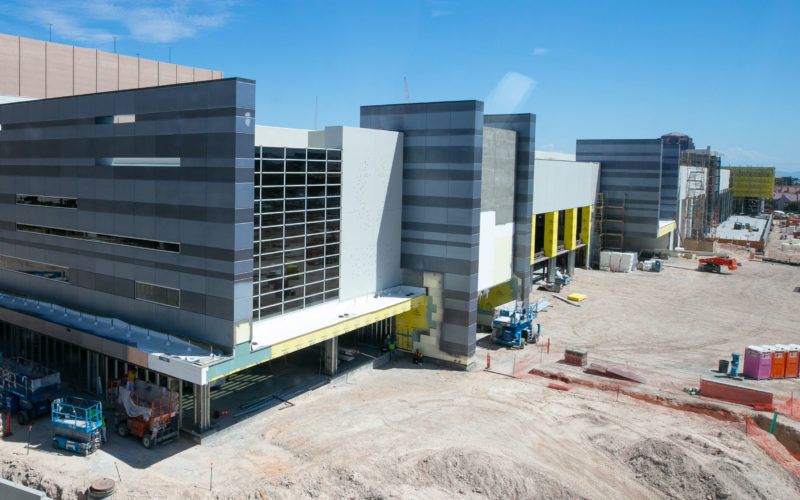 CAESARS FORUM hits construction milestone