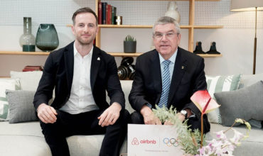 The Olympics announces nine-year partnership with Airbnb