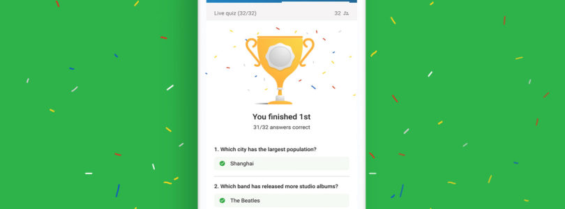 Slido launches Slido Quizzes
