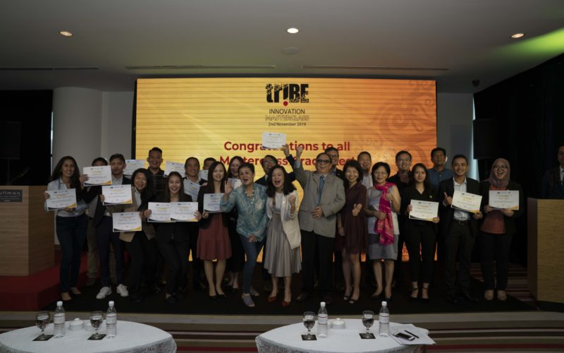 TriBE graduates in Sarawak