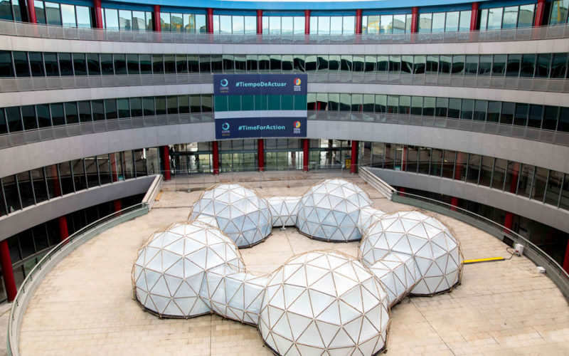 'Pollution pods' raise climate awareness at COP25