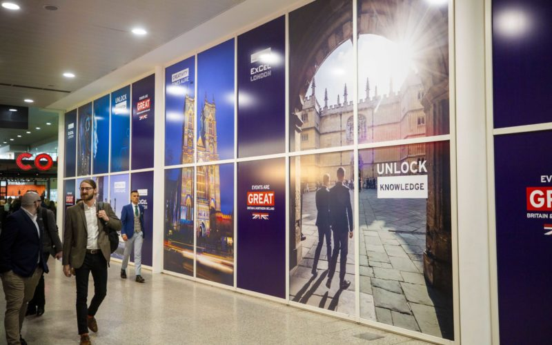 ExCeL London partners with the Government's GREAT campaign