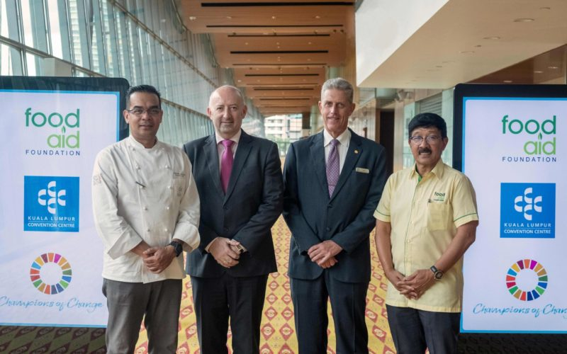 Kuala Lumpur Convention Centre partners with Food Aid