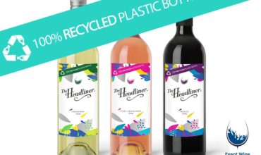 Event Wine Solutions goes 100% recyclable