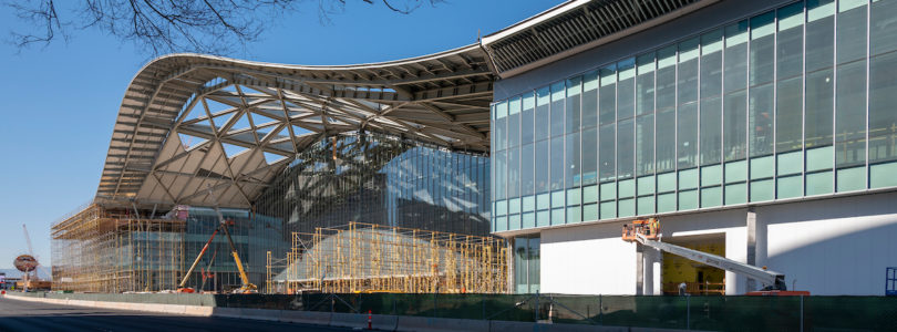 Las Vegas Convention Center pours first concrete for West Hall expansion