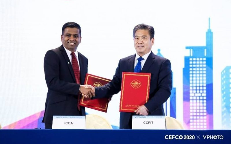 ICCA signs MOU to provide training programmes in China
