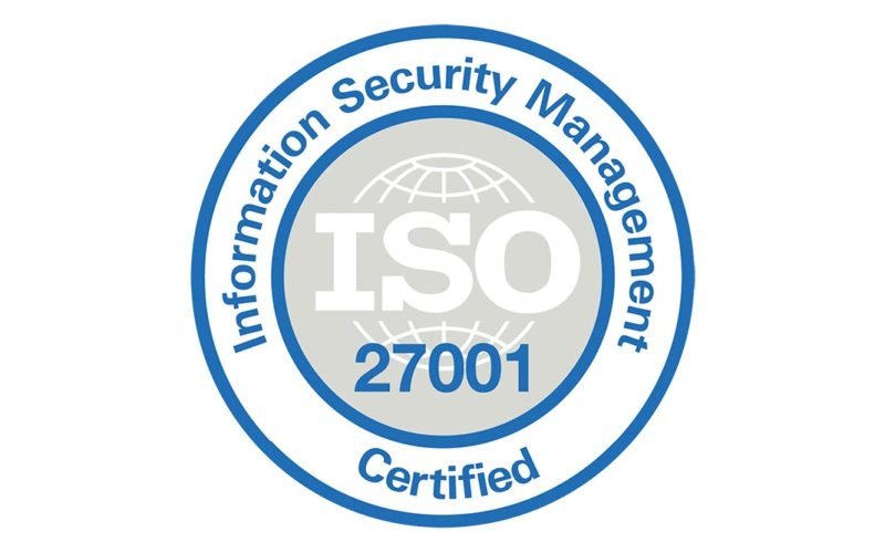 Visit by GES achieves ISO 27001 data security certification