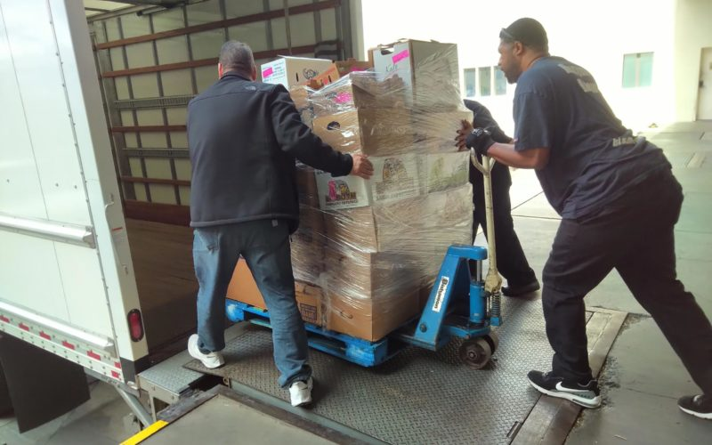 Caesars donates food and supplies during Covid-19