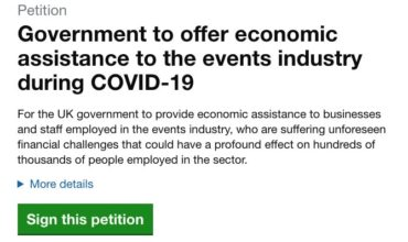 Thousands sign petition for government support in UK