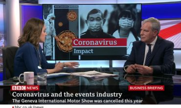 BVEP chair Simon Hughes appears on BBC to discuss coronavirus