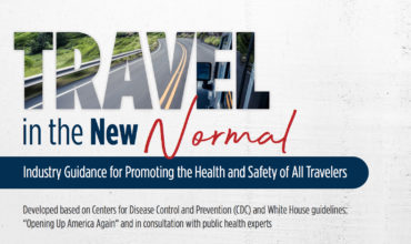 US travel industry issues guidance in the new normal