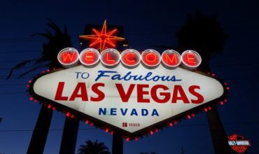 Las Vegas goes red for hospitality workers and the spirit of travel