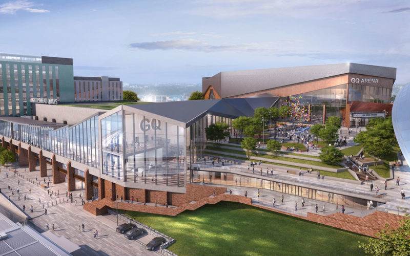 Details revealed for new Gateshead Quays international conference and exhibition centre