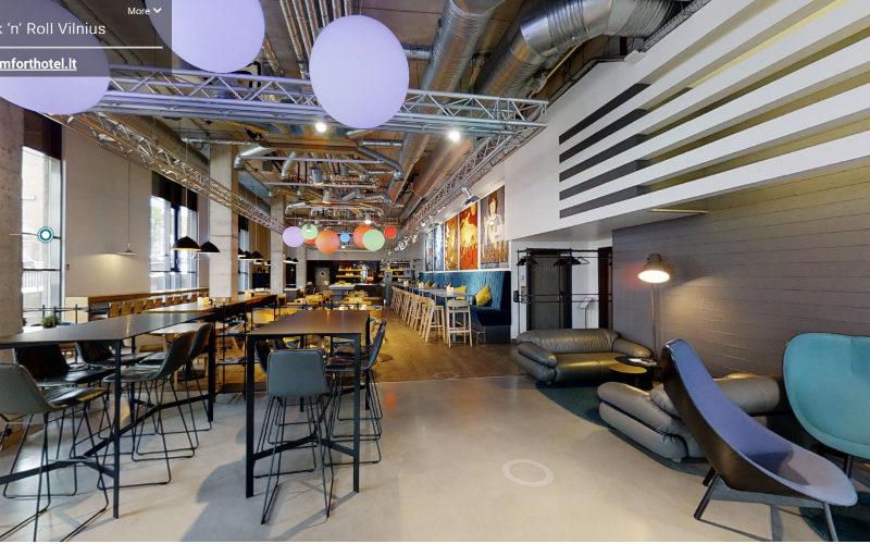 Vilnius venues open up in a 3D, as Latvia expands travel bubble