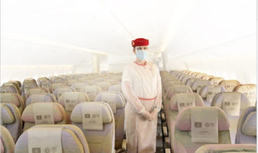 Emirates airline to offer passengers medical cover for Covid-19