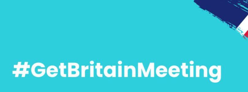 Social media: #GetBritainMeeting