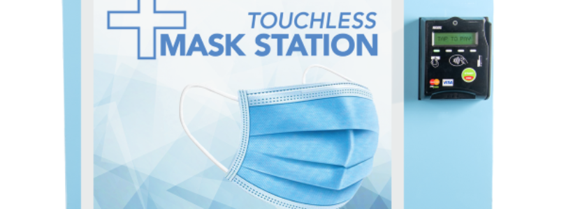 Cypress Vending introduces Touchless Mask Station