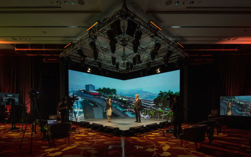 Marina Bay Sands launches hybrid event broadcast studio