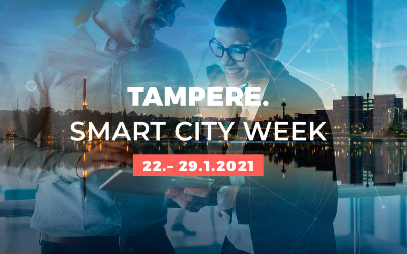 Tampere's Smart City choice to go online in 2021