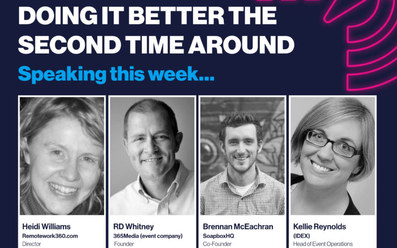 Confex webinar: Working from home – doing it better the second time around