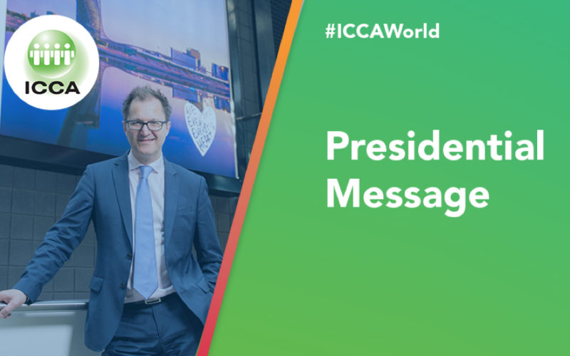 ICCA presidential report covers Covid, congress, community and co-operation